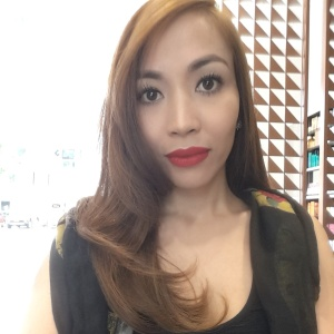 The power of make-up and a good blow-out. Yay!